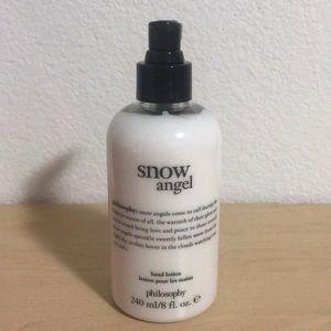 SNOW ANGEL philosophy hand lotion